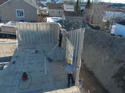 murs préfabriqué